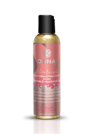 Dona Kissable Massage Oil - Vanilla Buttercream