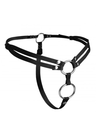 Unity Double Penetration Strap-On Harness