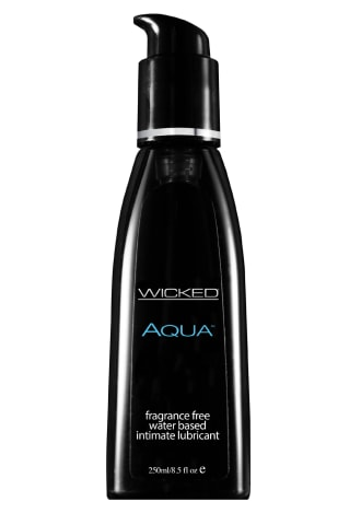 Wicked Sensual Aqua Water-Based Lubricant
