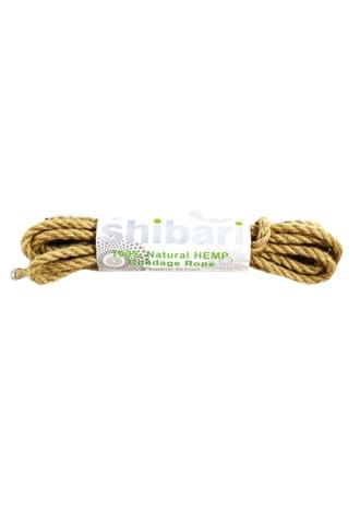 Shibari 5 Meterd 100% Natural Hemp Bondage Rope