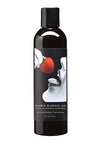 Edible Massage Oil - Strawberry