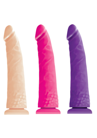 Colours Pleasures Thin Dildo - 8""