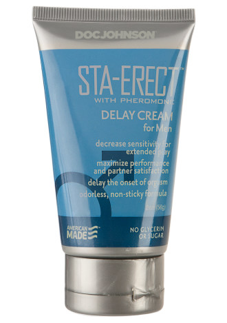 Sta-Erect with Pheromone - Delay Cream for Men