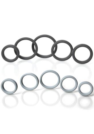 Boneyard Silicone Ring - 5 Piece Kit