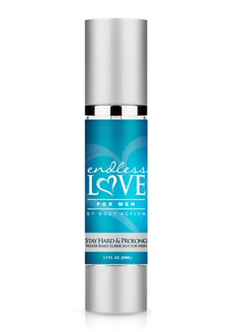 Endless Love for Men Stay Hard and Prolong Water Based Lubricant