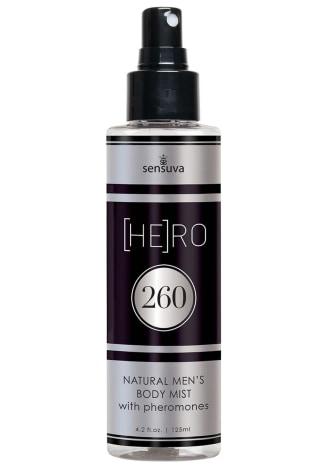 Hero 260 Natural Men's Body Mist with Pheromones
