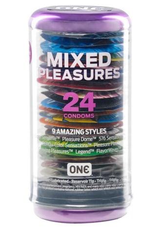 One Mixed Pleasures Condoms