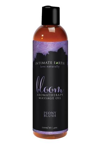 Intimate Earth BLOOM Aromatherapy Massage Oil - Peony Blush