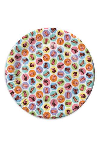 Mini Penis Plates - 8 Pack