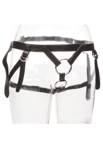 Her Royal Harness The Duchess Dual Penetration O-Ring Harness