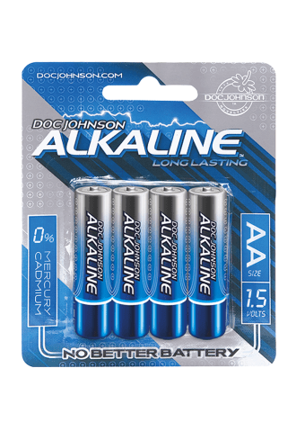 Doc Johnson Alkaline Batteries - AA