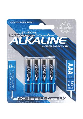 Doc Johnson Alkaline Batteries - AAA