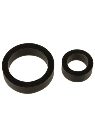 TitanMen® Silicone Cock Rings - Double Pack
