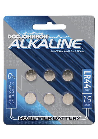 Doc Johnson Alkaline Batteries - LR44 - 15 Volts
