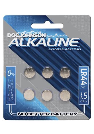 Doc Johnson Alkaline Batteries - LR44 - 15 Volts