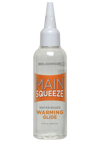 Main Squeeze™ Warming Water-Based Glide