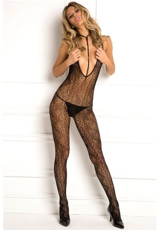 Holy Plunge Harness Bodystocking - One Size