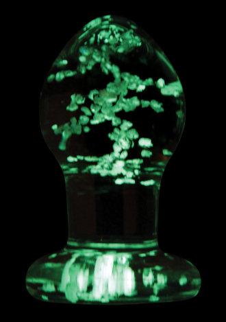 Firefly Glow in the Dark Glass Plug - Small