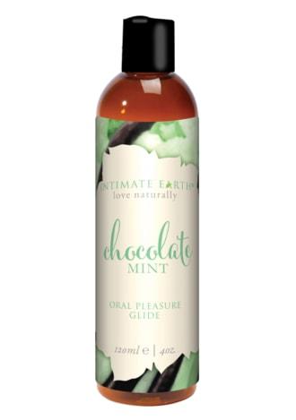 Intimate Earth Pure Vegan Oral Pleasure Glide - Chocolate Mint