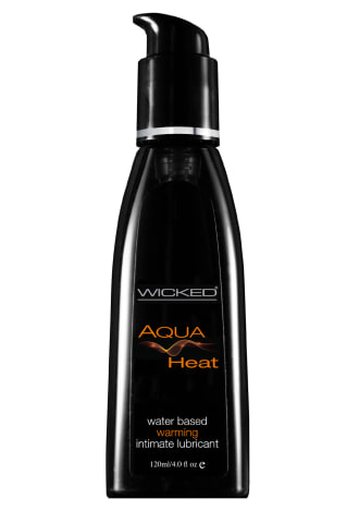 Wicked Aqua Heat Warming Lube