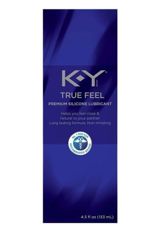 K-Y True Feel Premium Silicone Lubricant