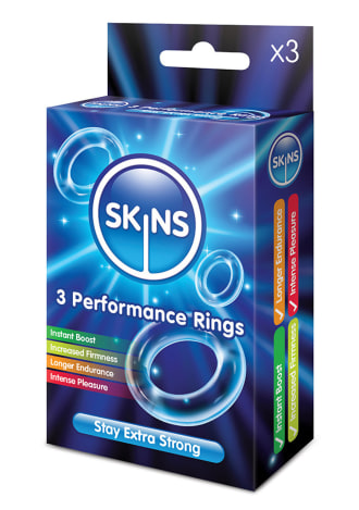 Skins Performance Ring Set - 3 Count