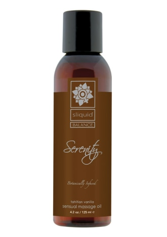 Sliquid Balance Massage Oil - Serenity