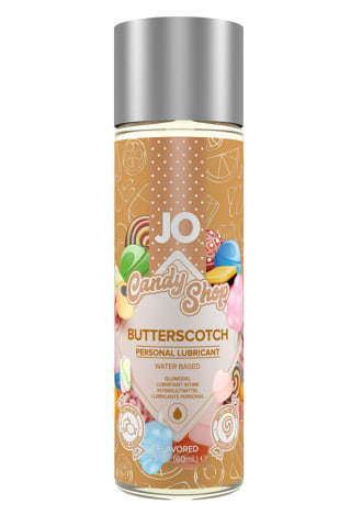 JO Candy Shop Flavored Lubricant - Butterscotch