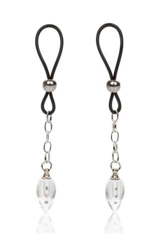 Nipple Play Non-Piercing Nipple Jewelry - Crystal Teardrop