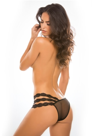 Adore Wild Orchid Panty - One Size