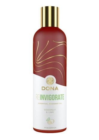 Dona Essential Massage Oil - Reinvigorate - Coconut Lime