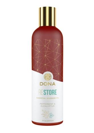 Dona Essential Massage Oil - Restore - Peppermint and Eucalyptus