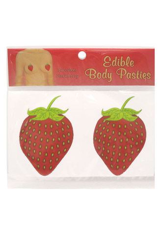 Edible Body Pasties - Succulent Strawberry