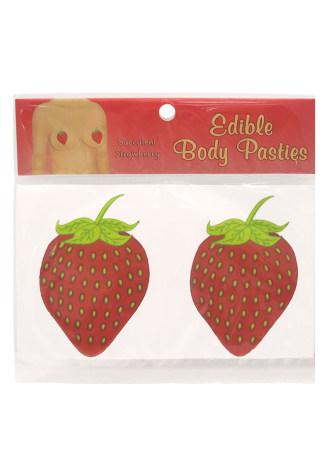 Edible Body Pasties - Succulent Strawberry
