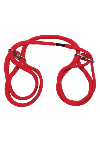 Japanese Style Bondage - 100% Cotton Wrist or Ankle Cuffs