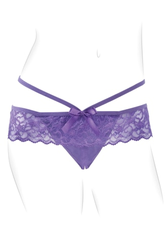Fantasy For Her Crotchless Panty Thrill-Her