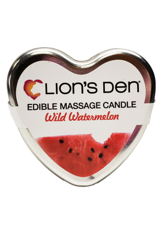 Lion's Den Watermelon Scented Massage Candle