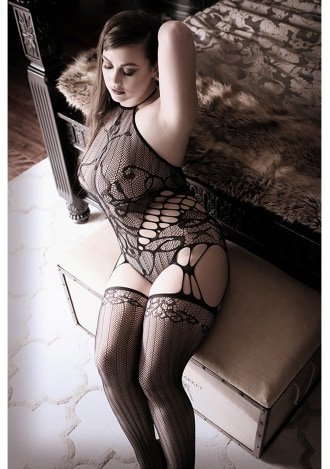 Goodnight Kiss Teddy with Attached Stockings - Queen Size