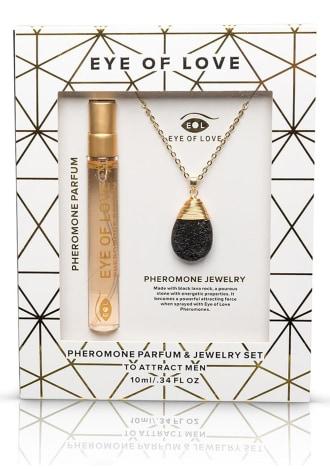 Eye Of Love Pheromone Parfum Necklace Drop