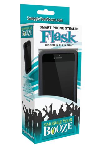 Smuggle Your Booze Smart Phone Flask