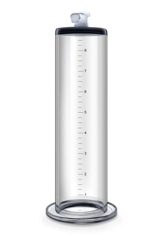 "Performance Pump Clear Cylinder - 9"" x 1.75"""