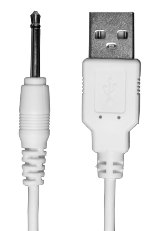 USB Pin Charger Cord (iVibe Select Collection) - White