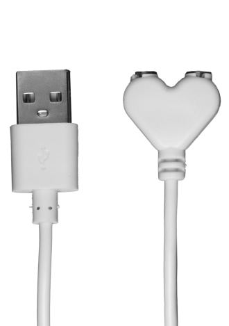 USB Magnetic Charger Cord (iVibe Select - iPlease) - White
