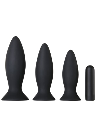 Rechargeable Vibrating Anal Trainer Kit