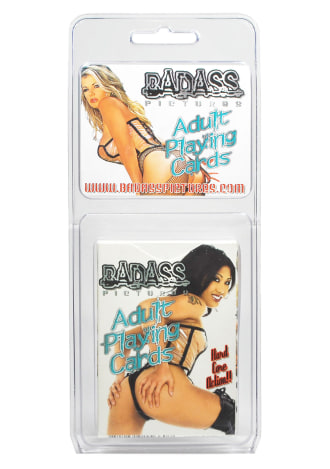 Badass Pictures Adult Playing Cards