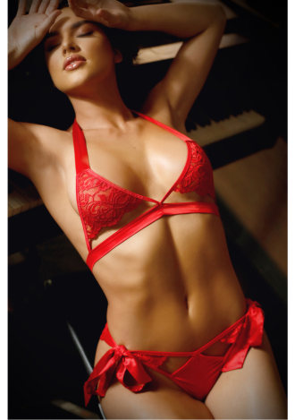 No Strings Attached Bra and Side Tie Panty
