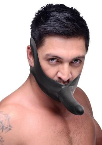 Master Series Face Fuk Strap-On Mouth Gag