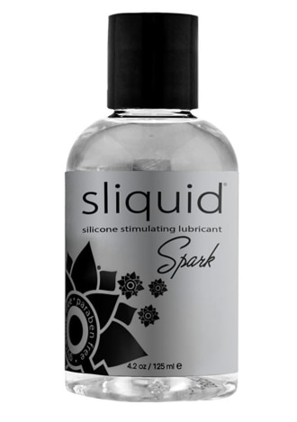 Sliquid Spark Silicone Lubricant 4.2 Oz. / 125ml