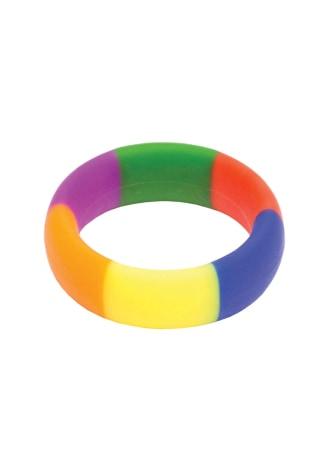 The 9's Pride 365 Rainbow Cock Ring