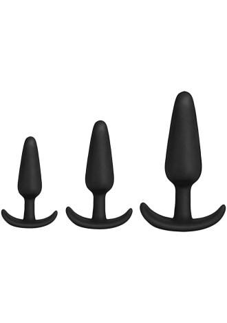 KINK - Anal Essentials 3-Piece Silicone Trainer Set